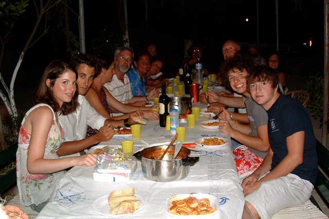 gäste essen vorbereiten